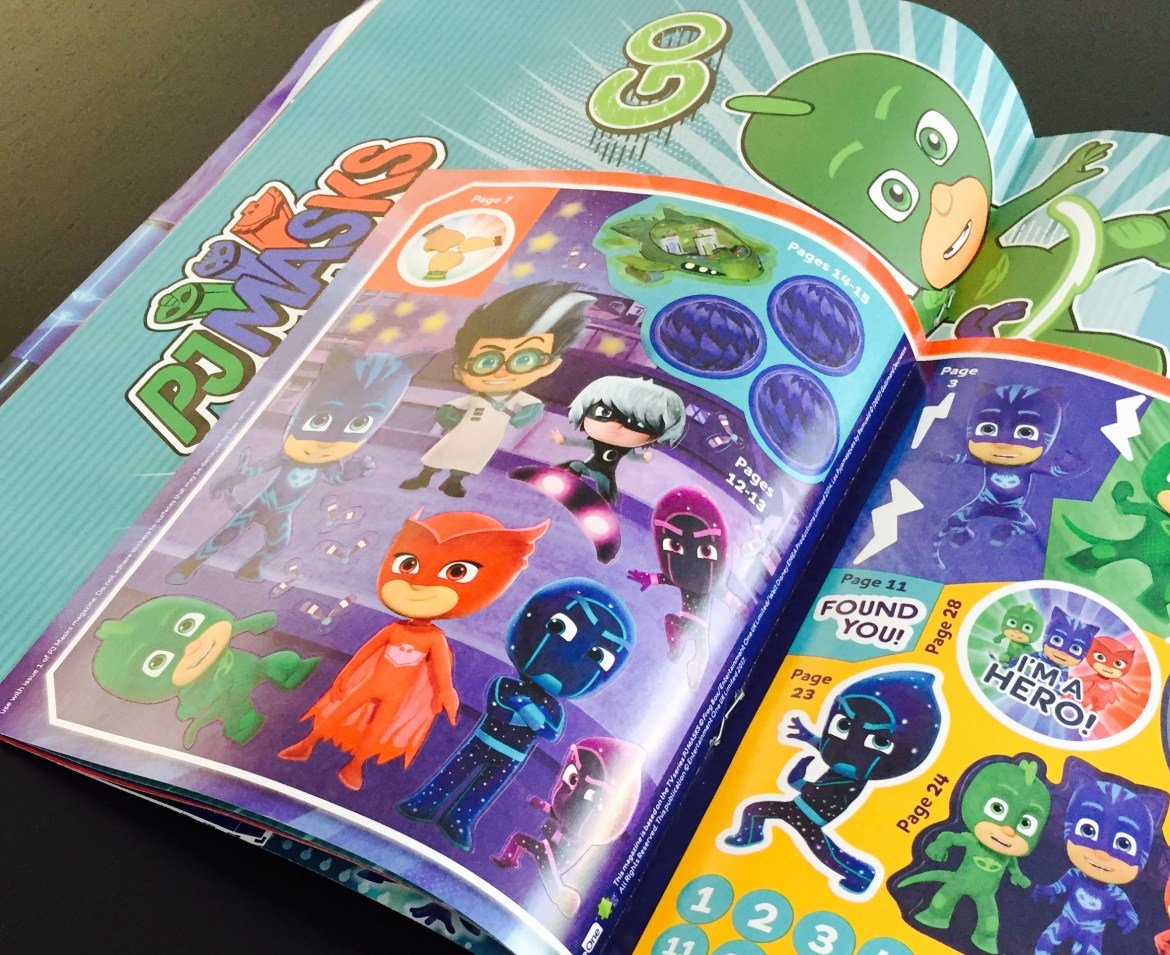 The New PJ Masks Magazine Has Landed In The UK