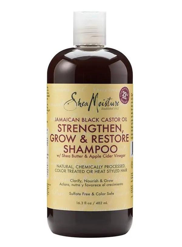 Shea Moisture Jamaican Black Castor Oil Strengthening Shampoo