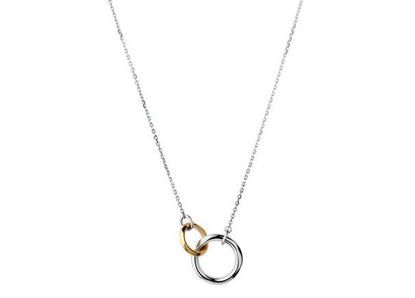 20/20 Sterling Silver & 18kt Yellow Gold Necklace