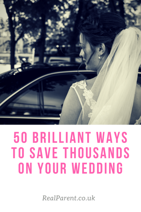 50 brilliant ways to save thousands on your wedding day