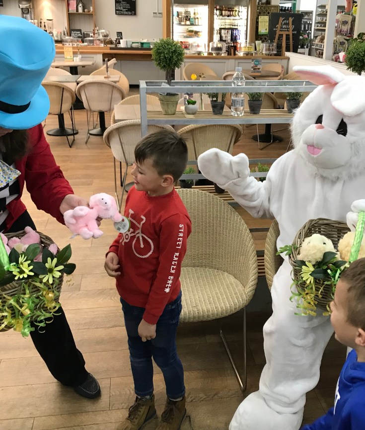 Tea With The Easter Bunny At Wyevale Garden Centre Andover