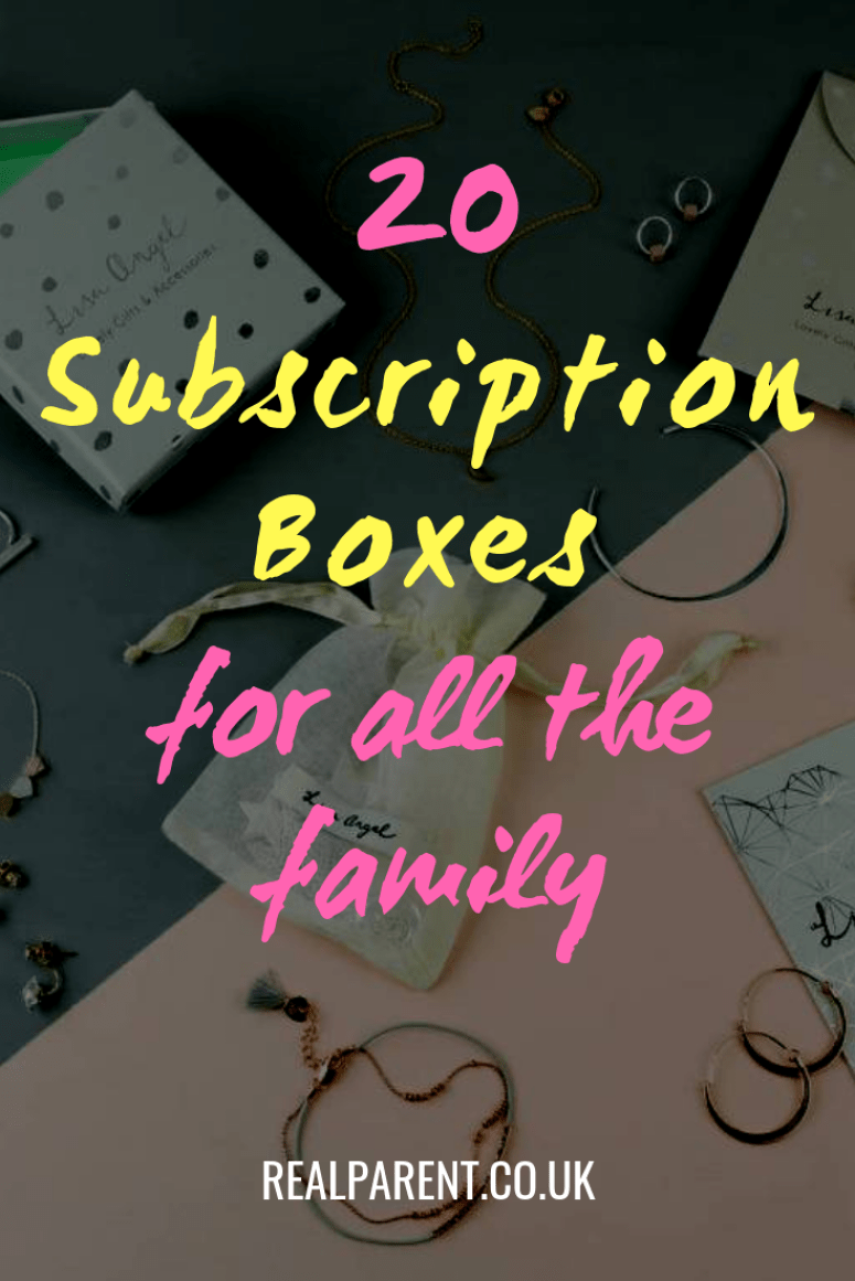 20 Of The Best Subscription Boxes For All The Family