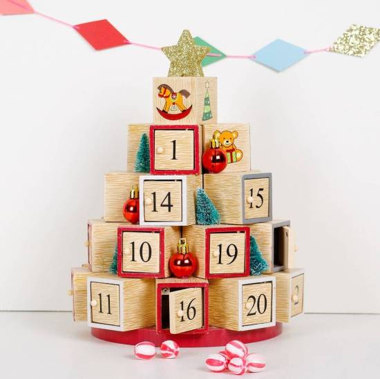 Child's Christmas Box Advent Calendar