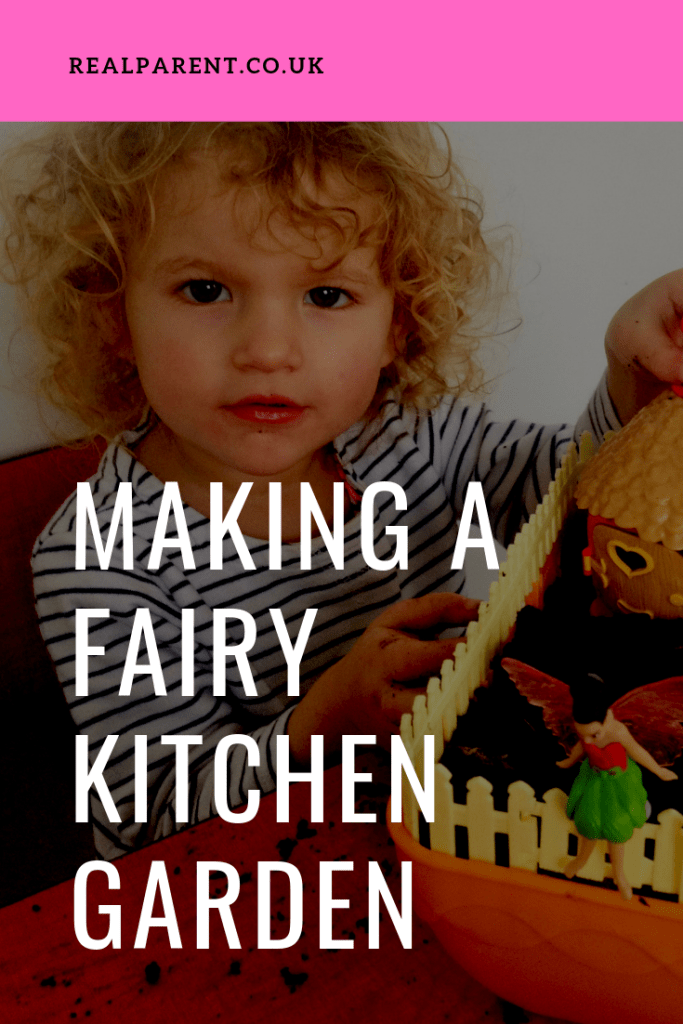 Making A Fairy Kitchen Garden With Edible Microgreens