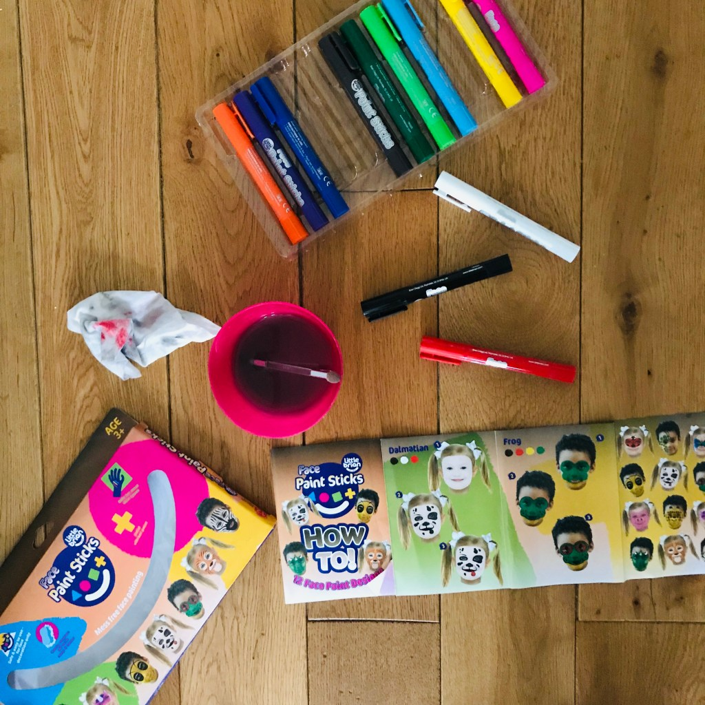 Create Easy Face Paint Designs With Little Brian