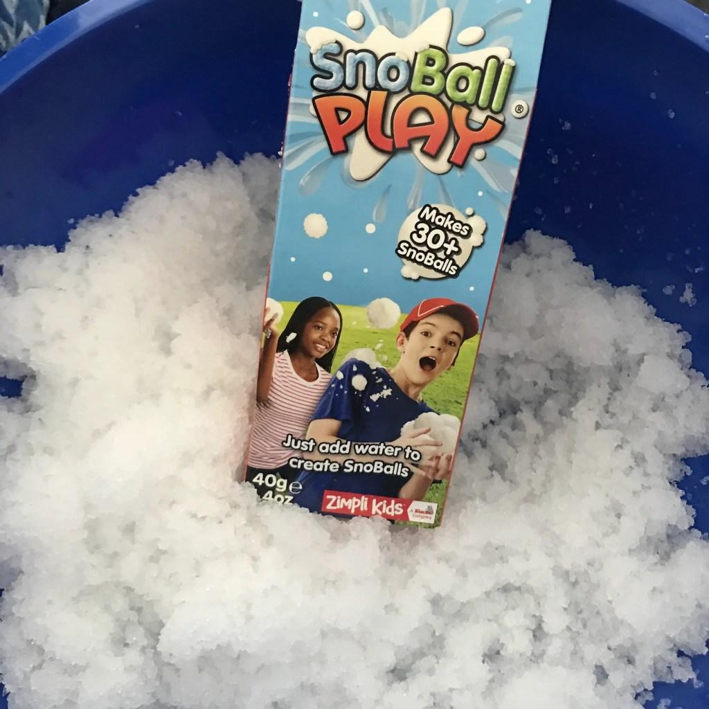 Zimpli Kids SnoBall Play