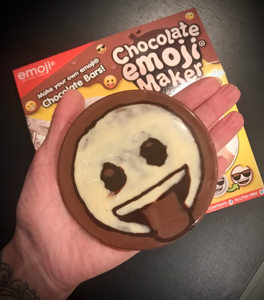 Chocolate Emoji Maker Unboxing Finished