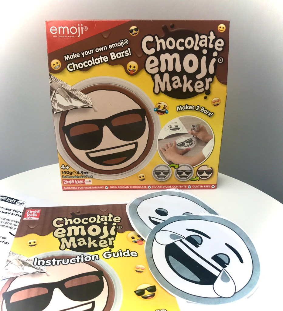 Chocolate Emoji Maker Unboxing Pack Shot