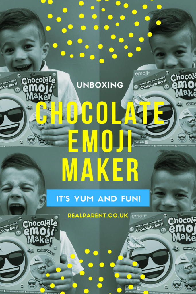 Unboxing Chocolate Emoji Maker by Zimpi Kids