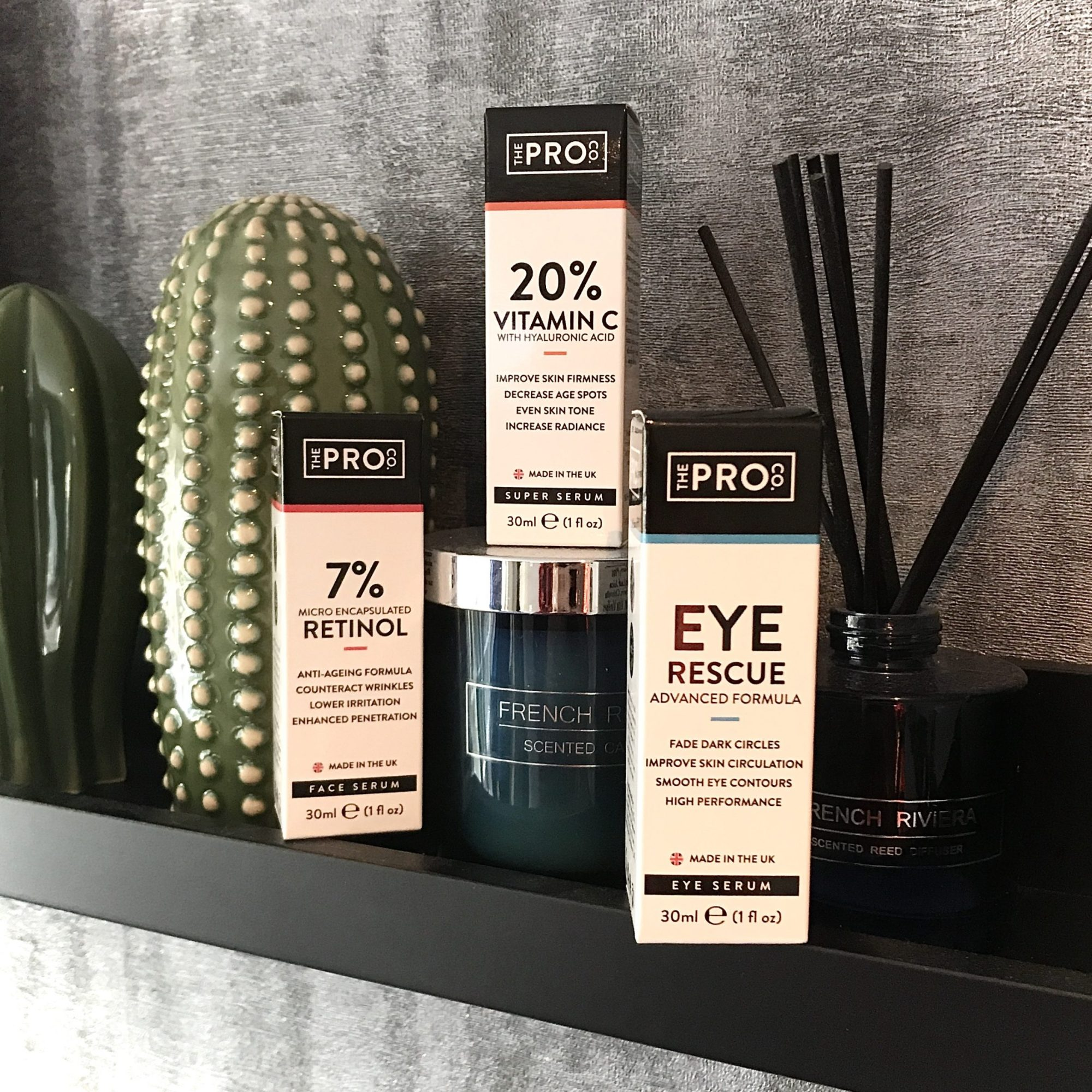 The Pro Co Face and Eye Serums