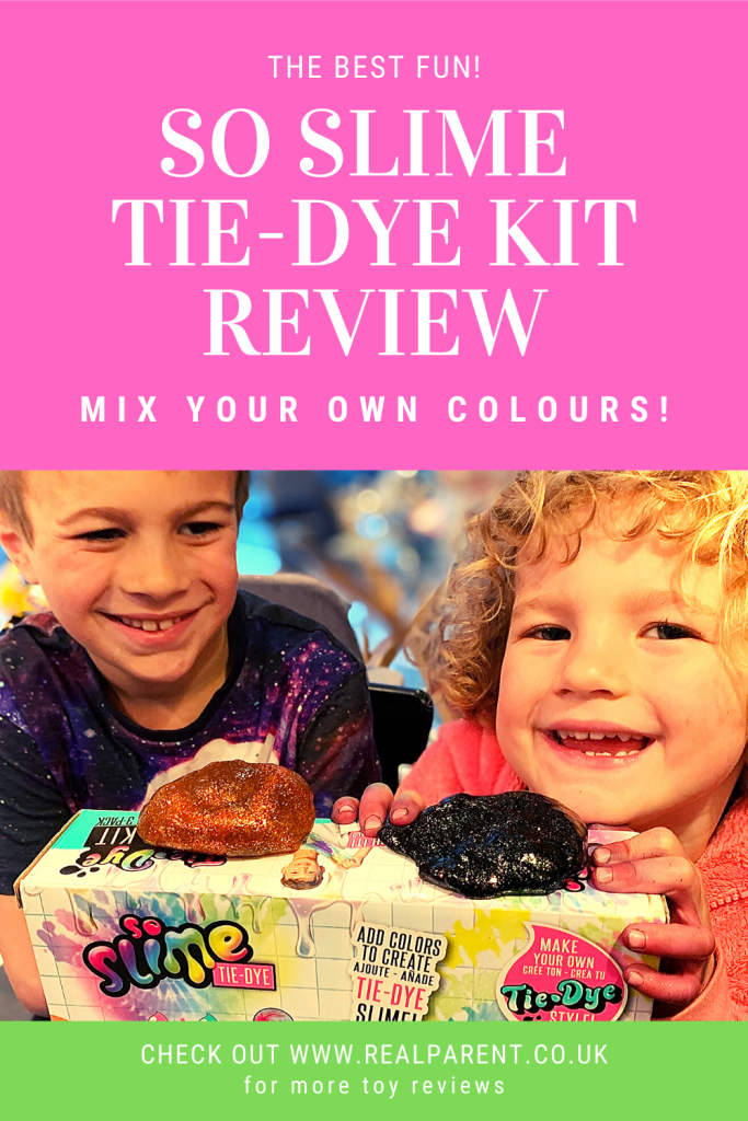 So Slime Tie-Dye Kit Review