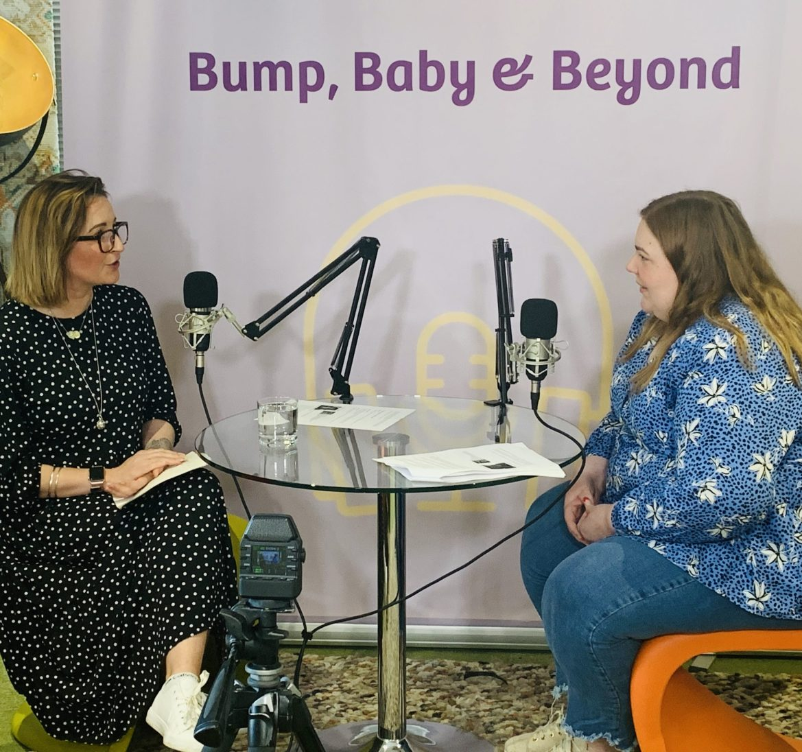 Lucy Clarke from RealParent.co.uk talking candidly on the Emma's Diary Podcast about her 3 childbirth experiences