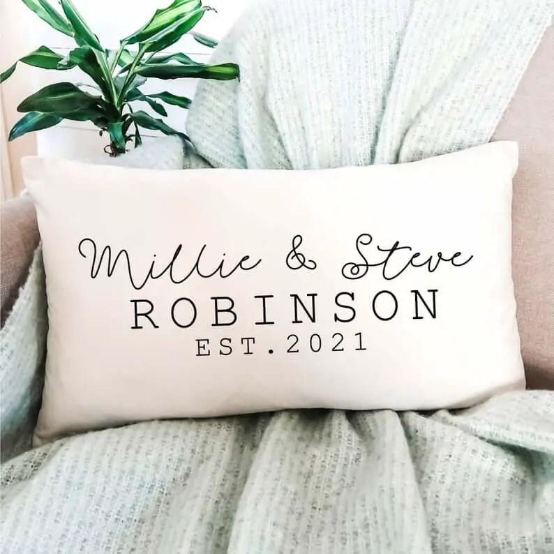 Personalised Velvet Cushion