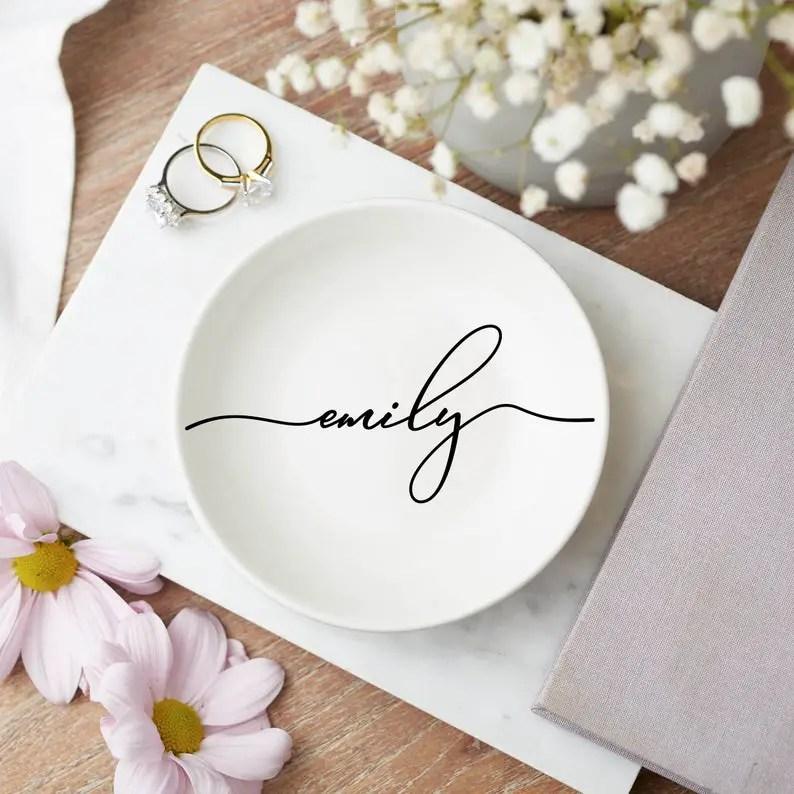 Personalised Jewellery Dish