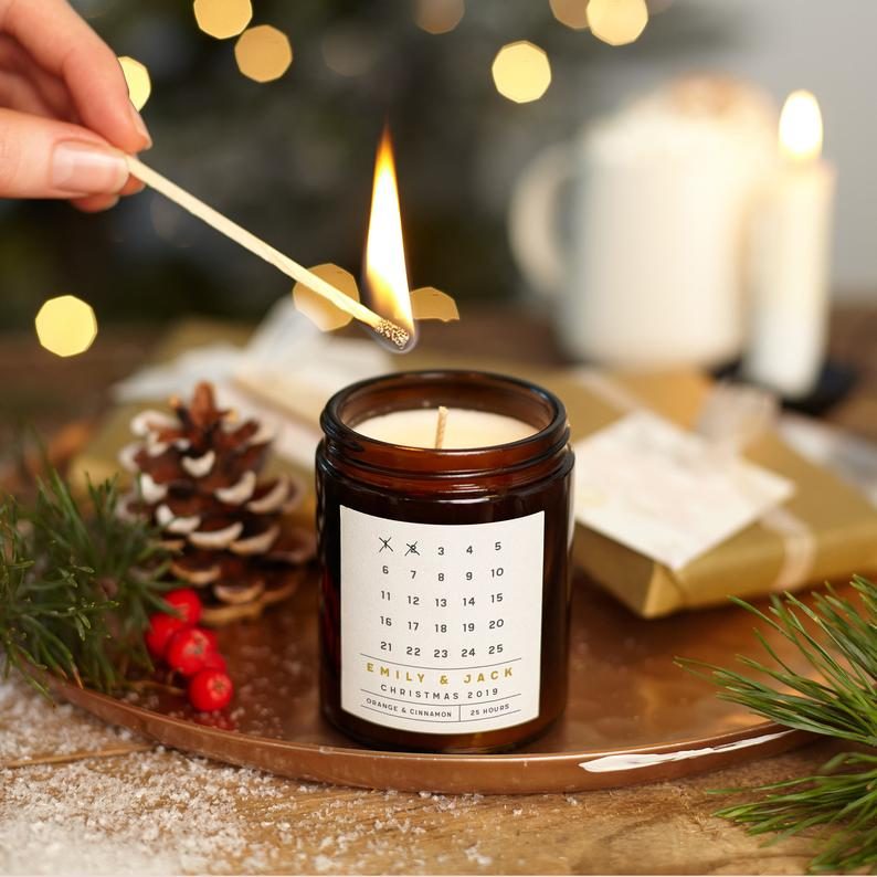 Advent Calendar Candle