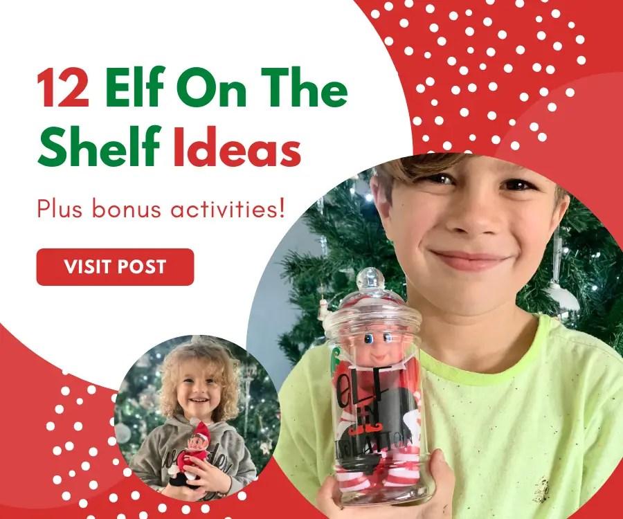 12 elf on the shelf ideas