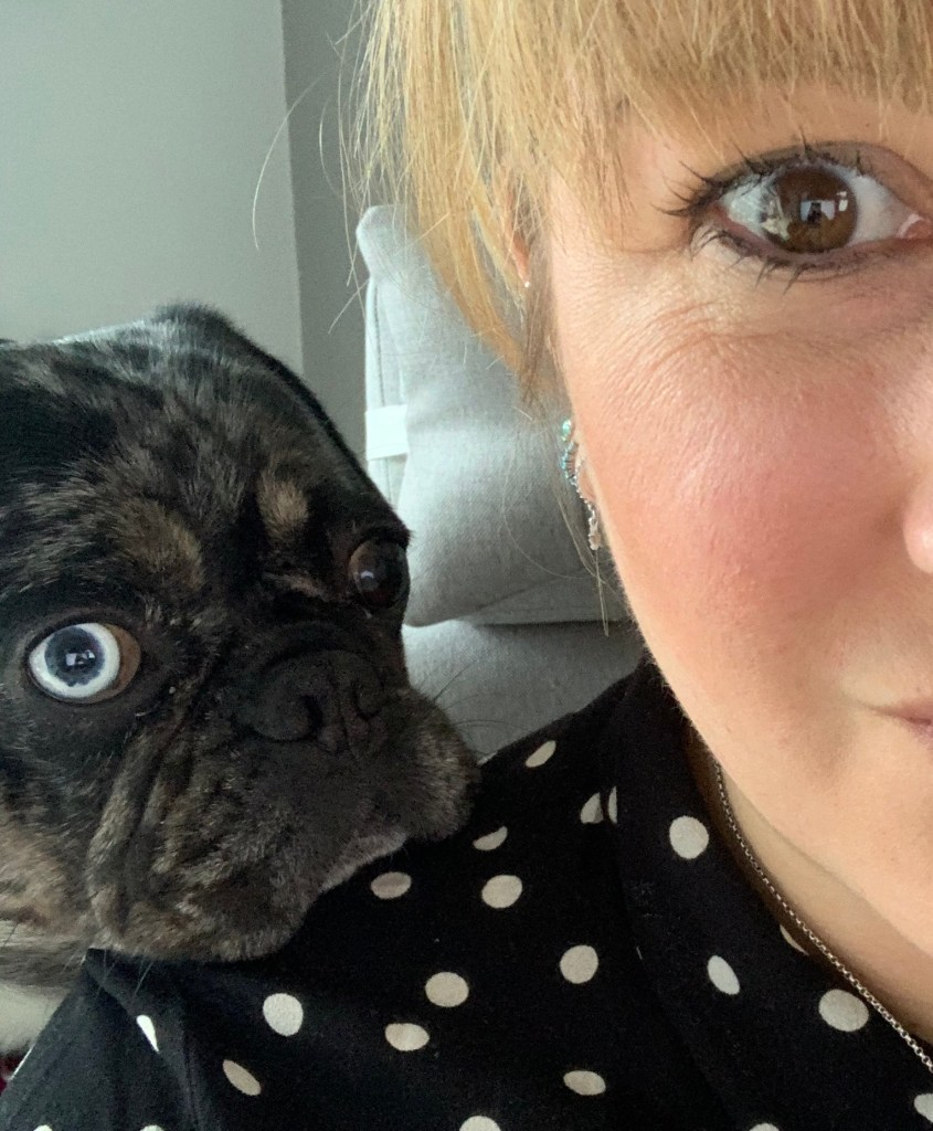 Working from home With A Pet Frug