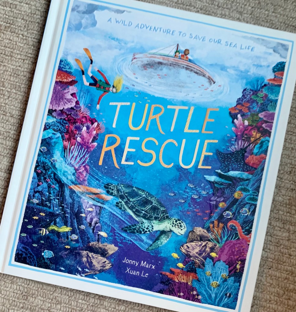 Children's Books About Climate Change And The Planet: Turtle Rescue book