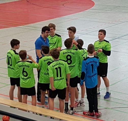 2016 2017 Handball Bezirksfinale Jungen 3 1
