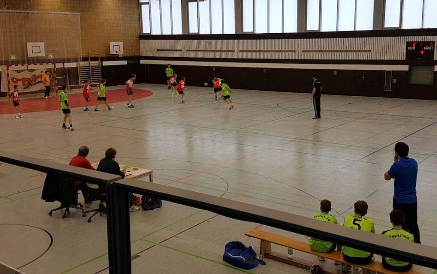 2016 2017 Handball Bezirksfinale Jungen 3 9