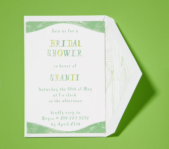 Peach And Turquoise Bridal Shower Invitation Showers Invite Etiquette Q A