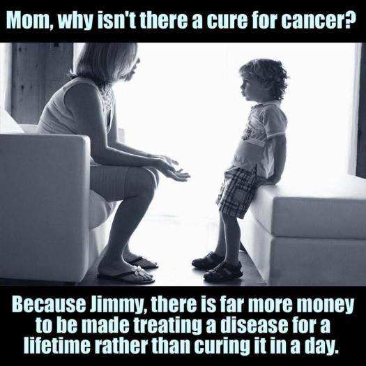 Mom, why isn't there a cure for cancer?