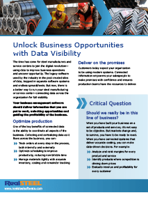 Unlock Opportunities with Data Visibility