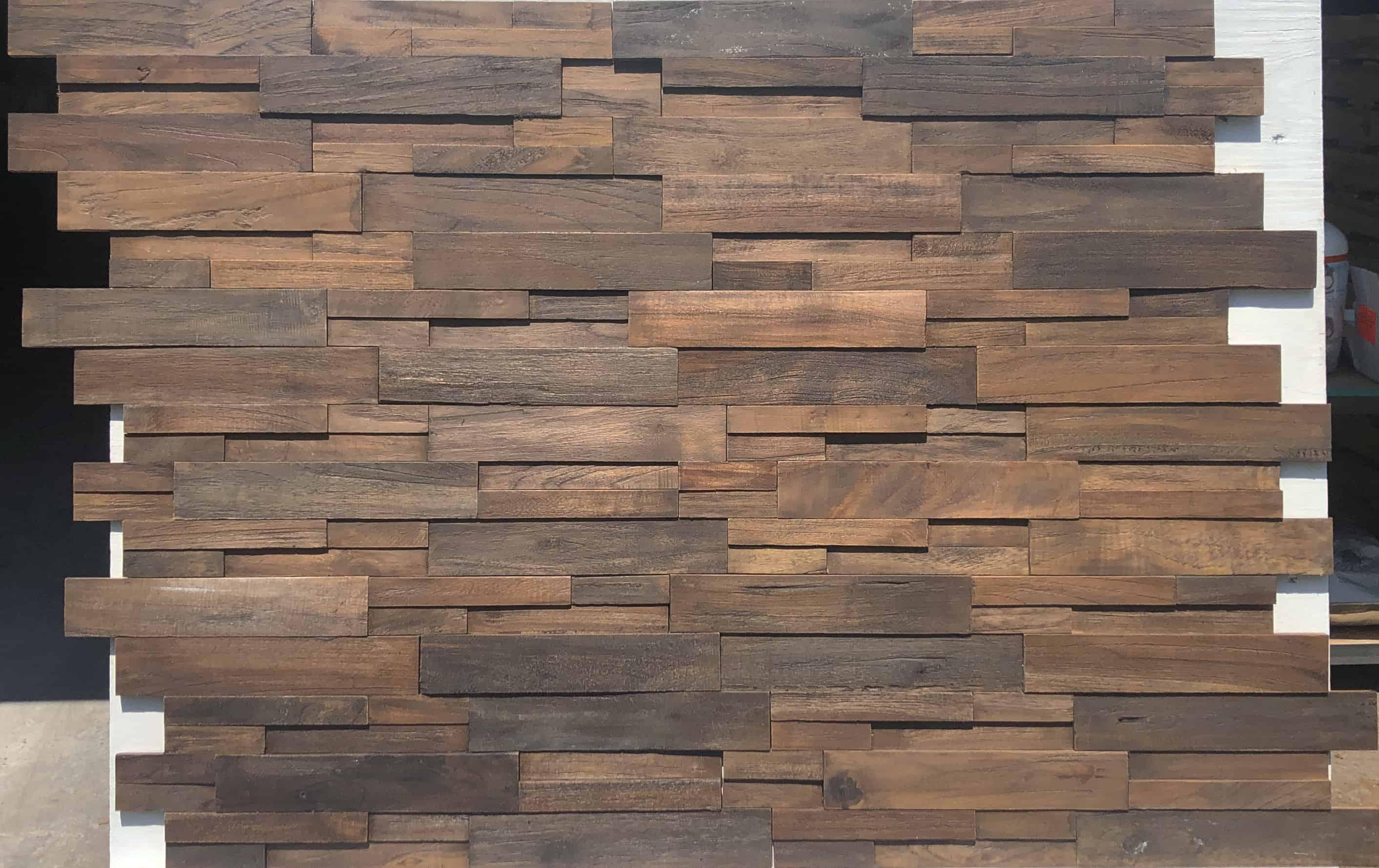 Reclaimed Wood Dark Panel Realstone Systems