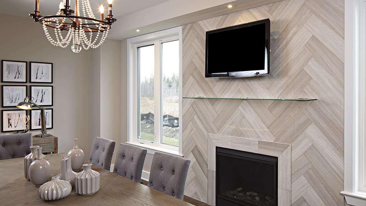 white birch tile herringbone 6x24