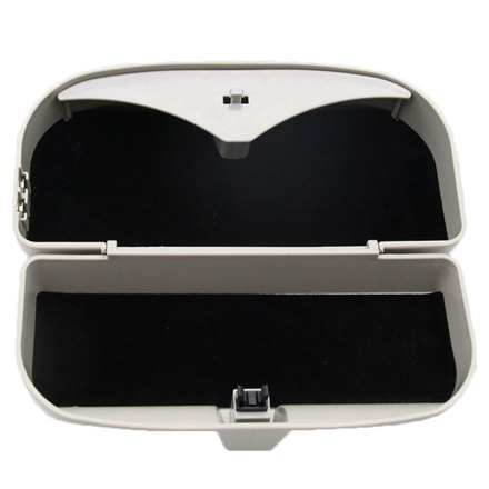 Multifunction Car Sun Visor Car Sunglasses Box Magnetic Setting For Vehicle Coin Car Card Clip Auto Sunglasses Holder Case