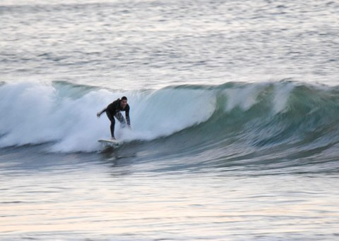 The Wall surfing Ventura