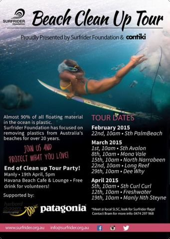 Join the beach clean tour