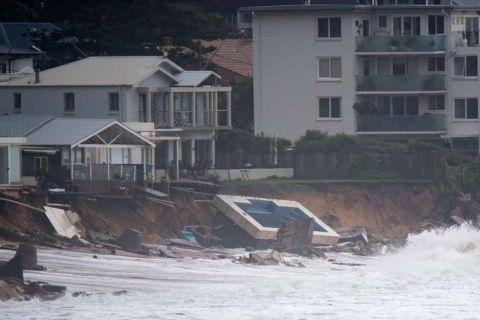 collaroy beach storm damage