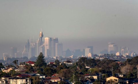 sydney pollution