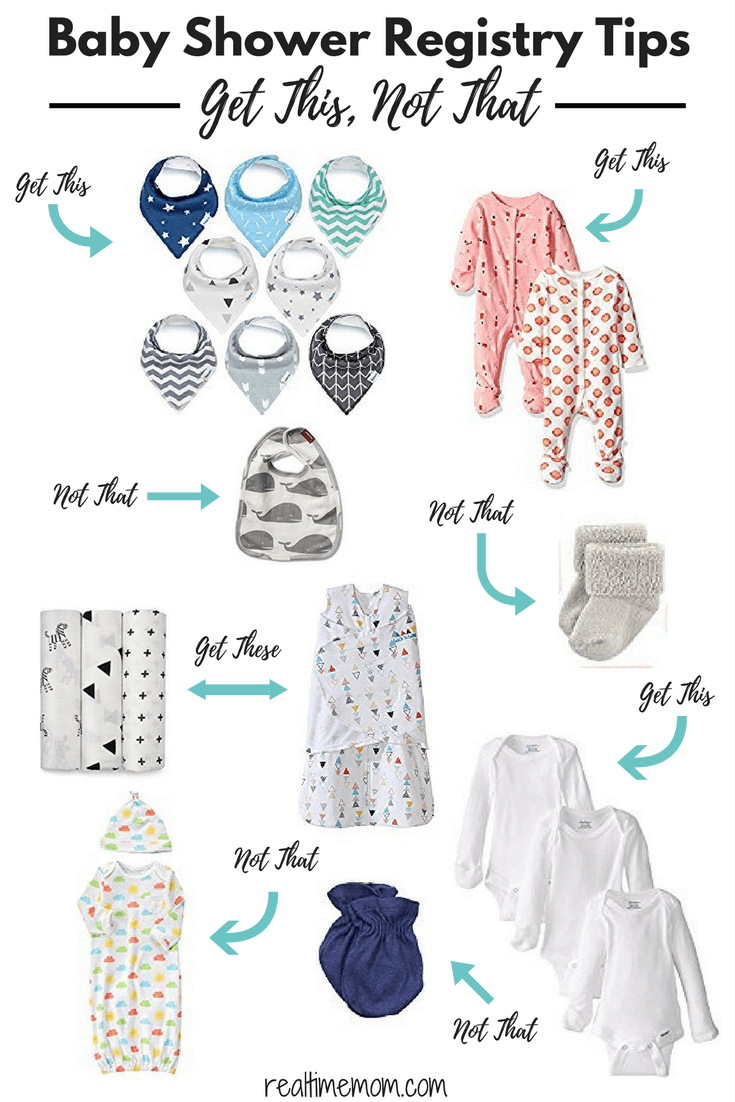baby shower registry tips