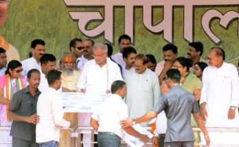 Janjgir-Champa, Choupal Program, Chief Minister Bhupesh Baghel, Beneficiaries, Tractor, motorized tricycle,