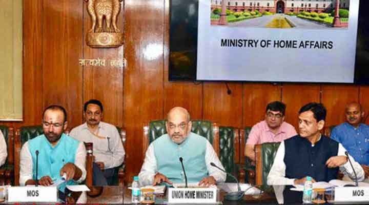 Home Minister Amit Shah, Central Cabinet, Office, Meeting,