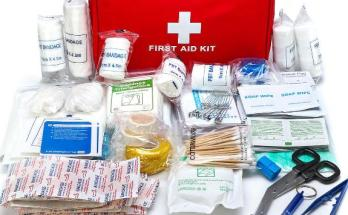 First aid, training camp,