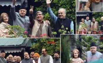 After the removal of Article 370, National conference, House arrest, Met Farooq Abdullah,