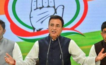 Maharashtra, Congress spokesman, Randeep Surjewala, Press conference,