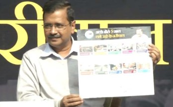 Delhi Assembly Elections, Kejriwal's Guarantee Card, Present,
