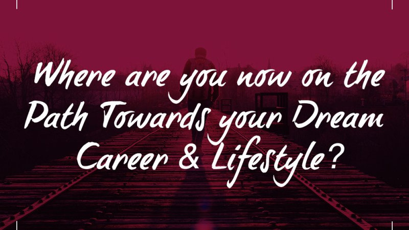 Where are you now on the Path Towards your Dream Careen & Lifestyle?