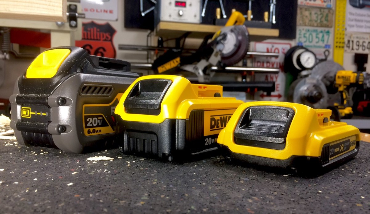 Does Size Matter? Dewalt FlexVolt Batteries | Real Tool Reviews