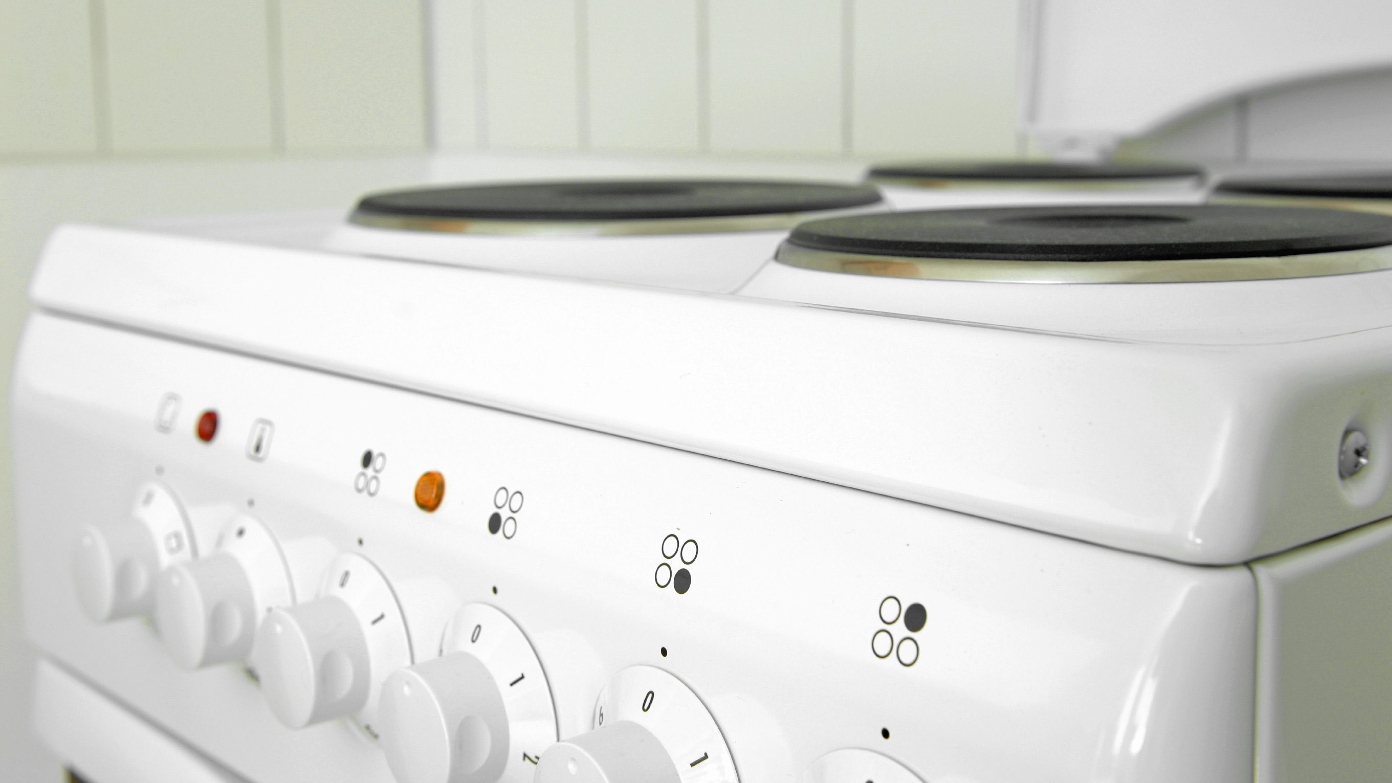 White stoves look outdated