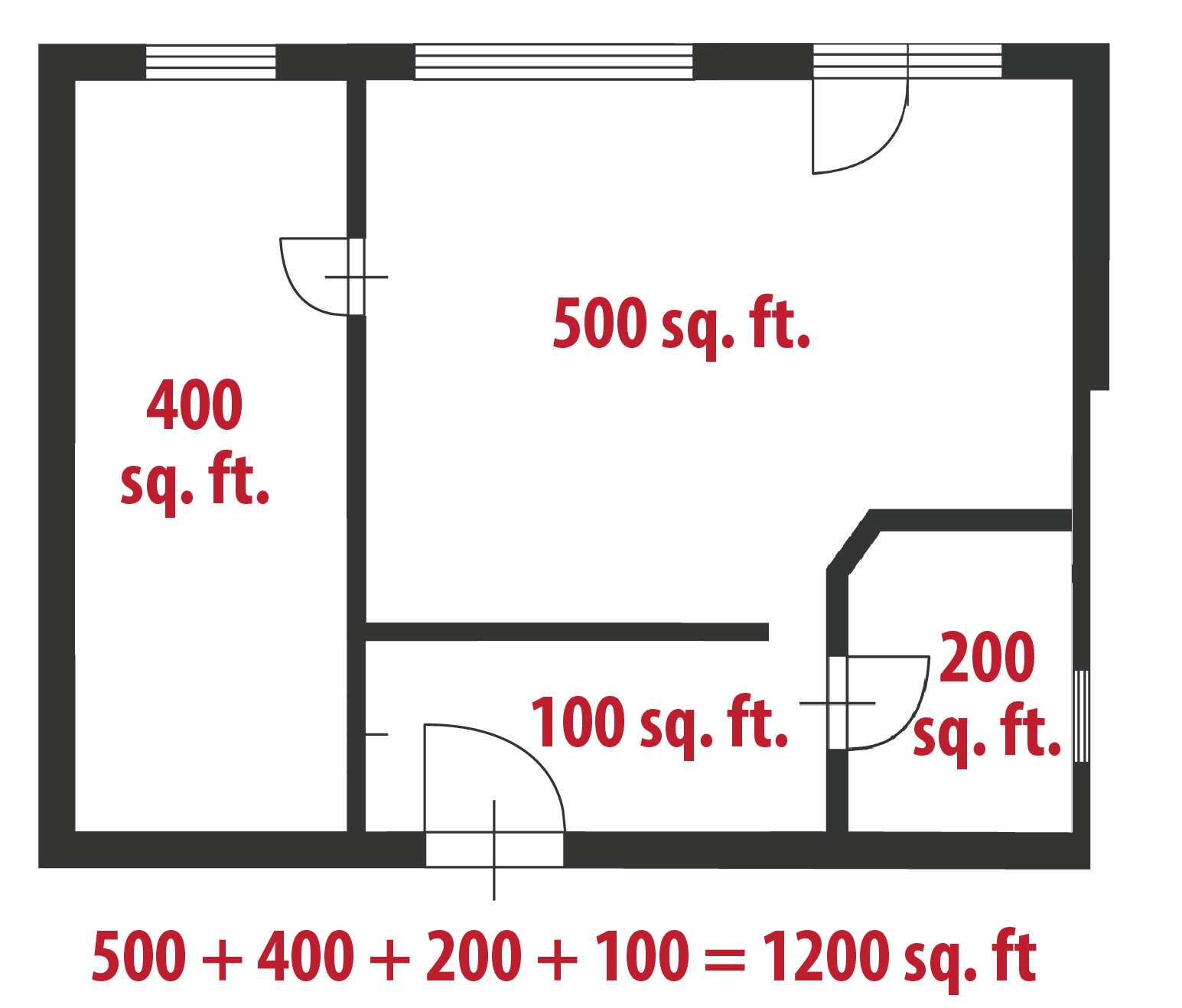 How To Calculate Square Feet Even If Your Home Is A