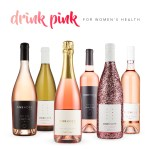 drink pink, rose, wine, frose, one hope