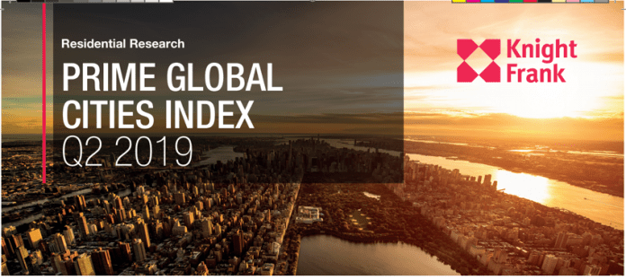 Knight Frank Prime Global Cities Index (Q2 2019)