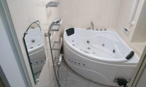 浴槽、在来、タイル、三角