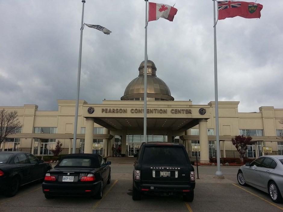 Pearson Convention Centre main entrance