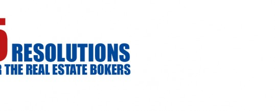 Five Resolutions For Real Estate Brokers